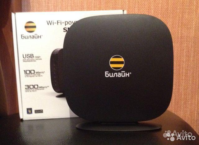 Объявление Wi-fi роутер билайн smart box (с фотографией). Марш