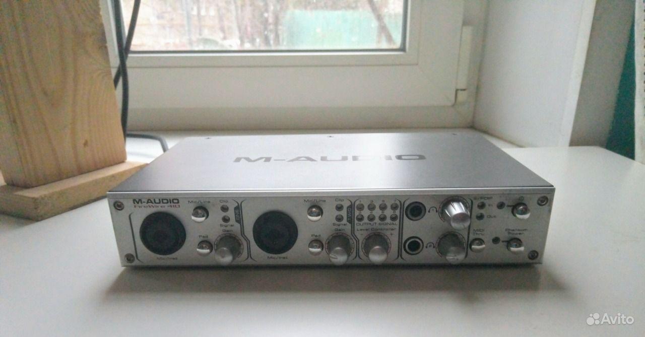 Звуковая карта M-Audio FireWire 410.  Москва