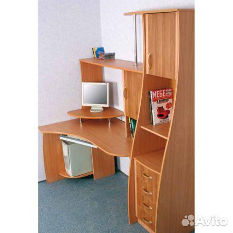 """Компьютерный стол """"парус"""" (9070 р) - диванди."""