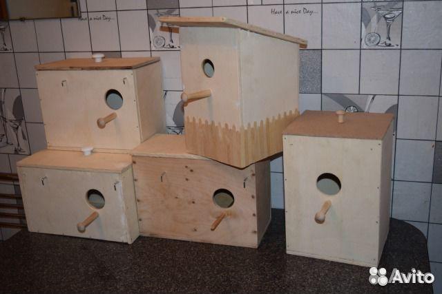 Домик для попугаев неразлучников своими руками