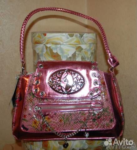 В продаже Розовая модная сумка под рептилию, как новая, США по лучшей цене c фотографиями и описанием...