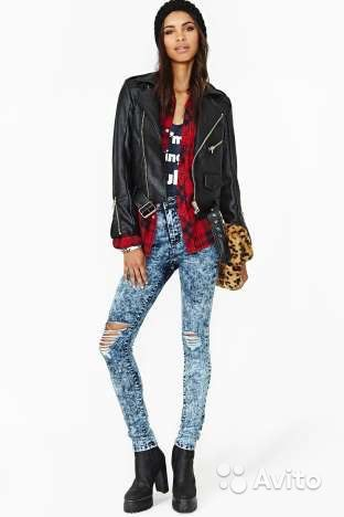 Купить джинсы с дырками доставка
