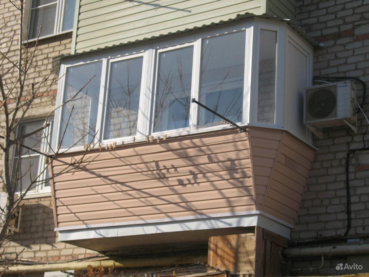 Частичное остекление балкона. - фото отчет - каталог статей .