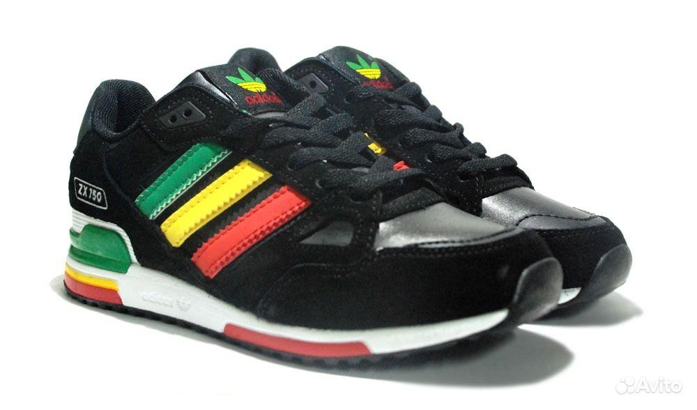 adidas zx 750 black rasta