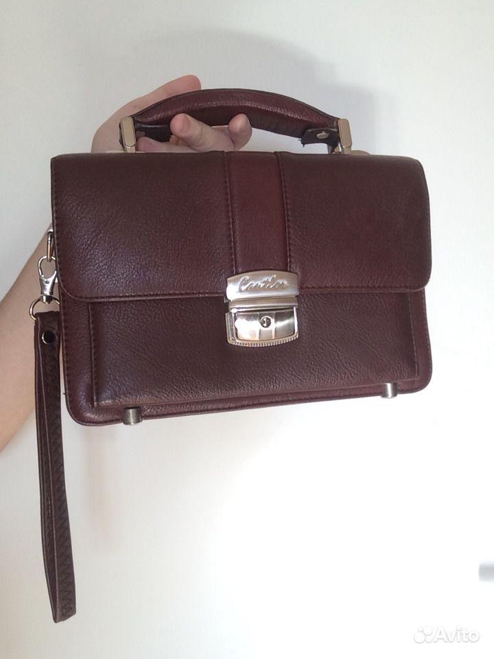 d22fab5f30c5 Мужская сумка барсетка. кожзам. (новая)   Festima.Ru - Мониторинг ...