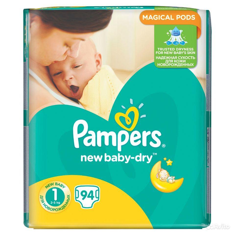 Подгузники Pampers New Baby-Dry 1 (2-5 кг)   Festima.Ru - Мониторинг ... dacc8a56665
