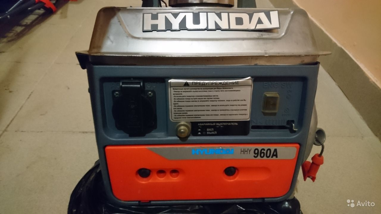 бензогениратор hyundai 3000f