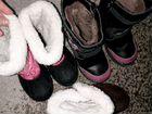 Пакет обуви на девочку