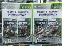 Far Cry + Far Cry 4 игра диск xbox 360 X BOX
