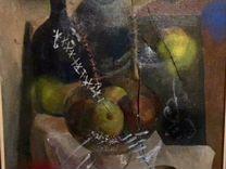 «Натюрморт с тарелкой фруктов» картина авторская — Мебель и интерьер в Москве