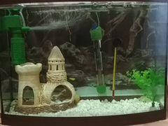 Аквариум 28 л с рыбками