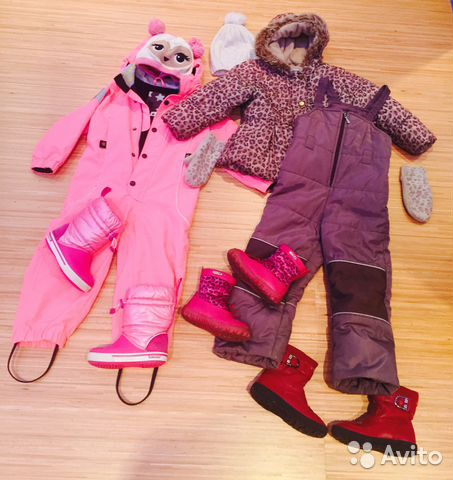 купить на авито детские вещи для девочки в москве