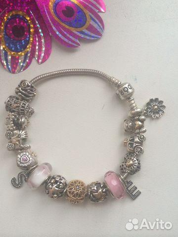 Pandora оригинал готовый браслет купить в москве на Avito