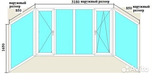 Рама балкона купить в самарской области на avito - объявлени.