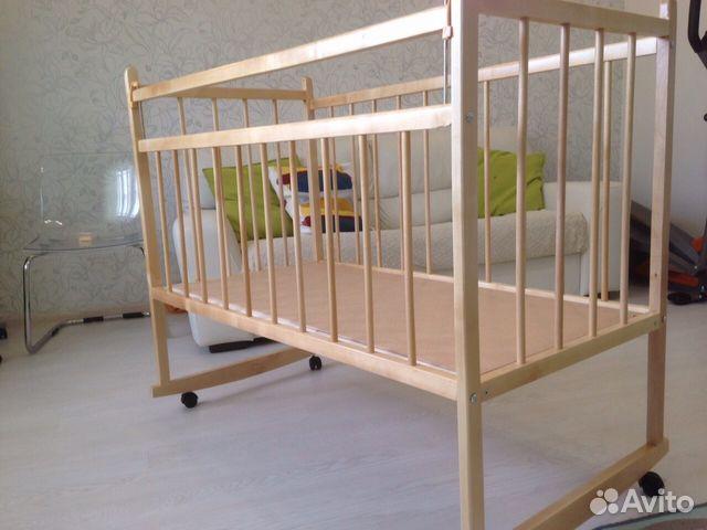 Детскую кроватку  новую