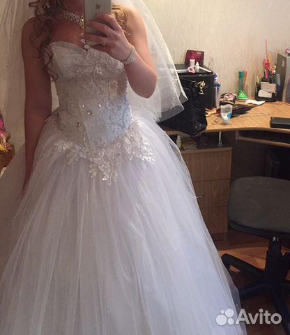 Свадебное платье на авито в н новгороде