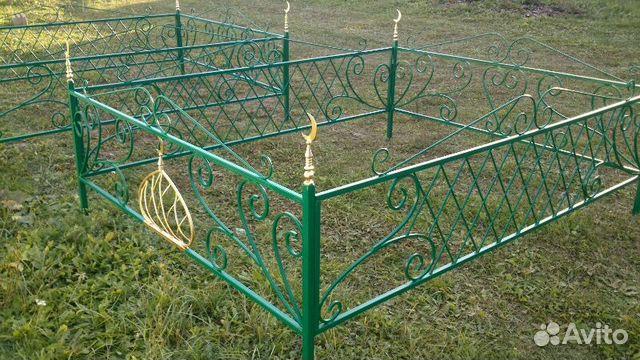 оградки на могилу мусульманские фото
