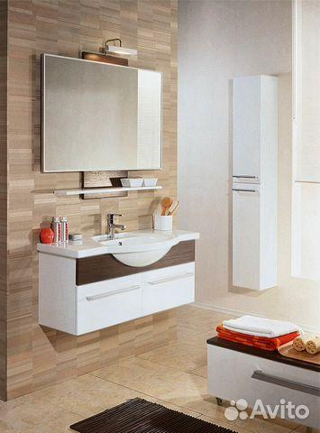 Мебель для ванной логика Душевой лоток Alpen Basic ALP-350BN1