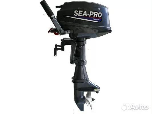 лодочный мотор sea pro т 40s e купить