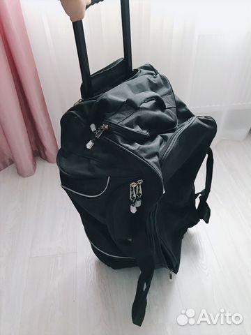 deb69fdb9f23 Дорожная сумка Calpak Cargo Black 29-inch с ручкой | Festima.Ru ...
