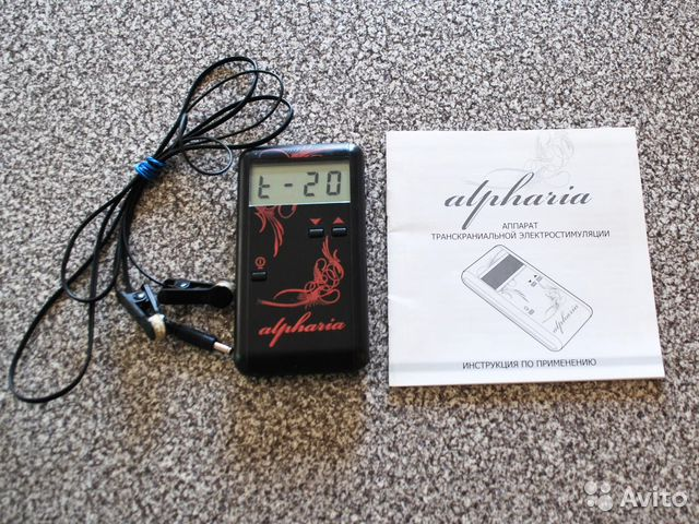 Альфария транскраниальная электростимуляция