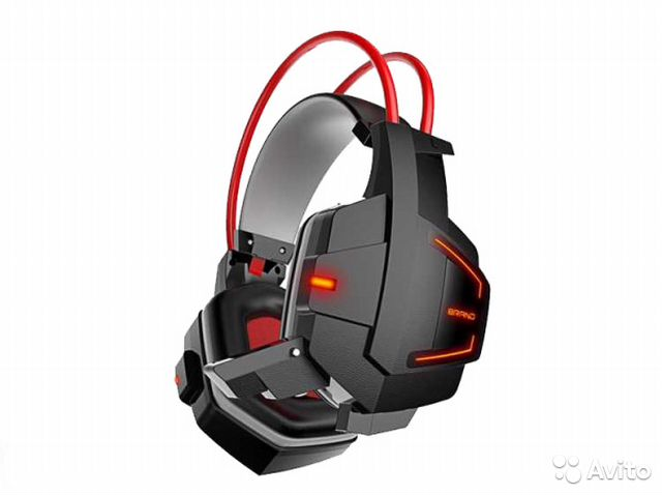 игровые наушники для пк Jinmai X5 с микрофоном купить в