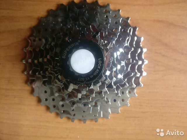 Кассета CS-05 9 скоростей, superwin,11-32Т, сталь