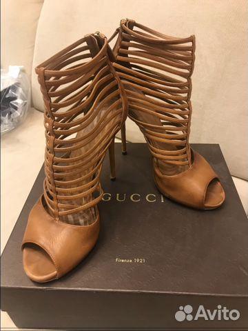 840cf1f62366 Ботильоны летние Gucci (оригинал )