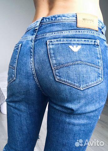 Джинсы Armani Jeans Оригинал купить в Санкт-Петербурге на Avito ... 54788ee7e86