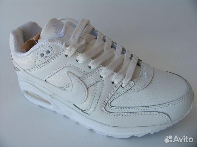 861638f8 Кроссовки Nike Air Max Skyline Кожа Белые Пер.36   Festima.Ru ...