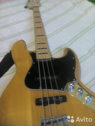 Бас гитара squier vintage modified jass bass 89511003394 купить 2
