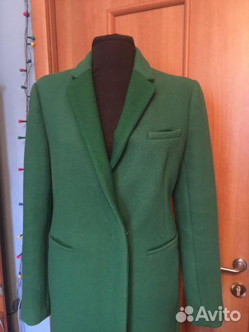 fe00bc8cb69 Пальто зимнее дизайнерское jnby зеленое