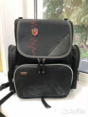 63da3493e8c0 Рюкзак, ранец, портфель (комплект сумка для обуви)   Festima.Ru ...