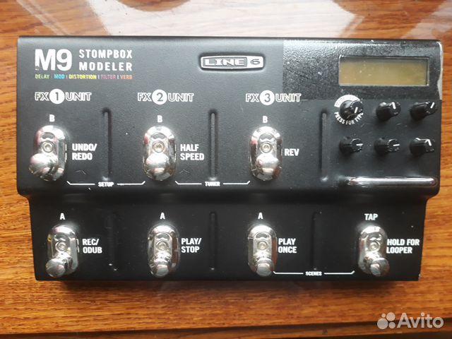 Line 6 M9 гитарный процессор