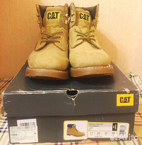 f9d489b06 Ботинки Caterpillar купить в Волгоградской области на Avito ...