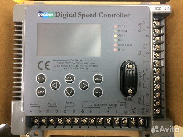 Doosan digital speed controller DSC-1000 16k20 - Транспорт, Запчасти и  аксессуары - Москва - Объявления