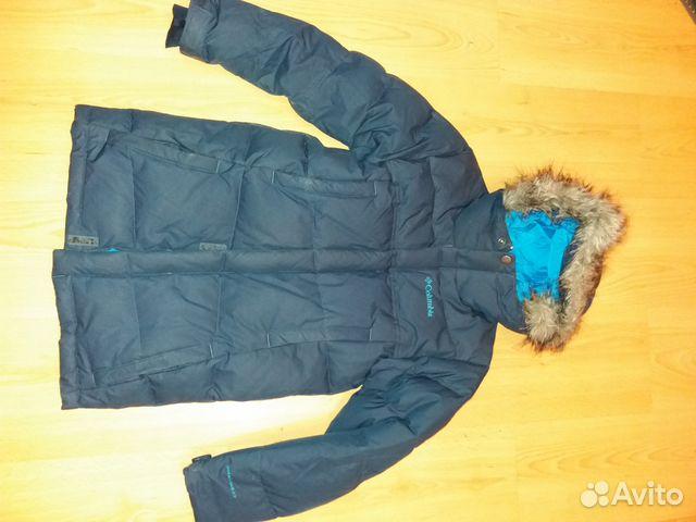 01d1df123f93 Пуховик-куртка Columbia Omni-Heat,8 лет купить в Москве на Avito ...