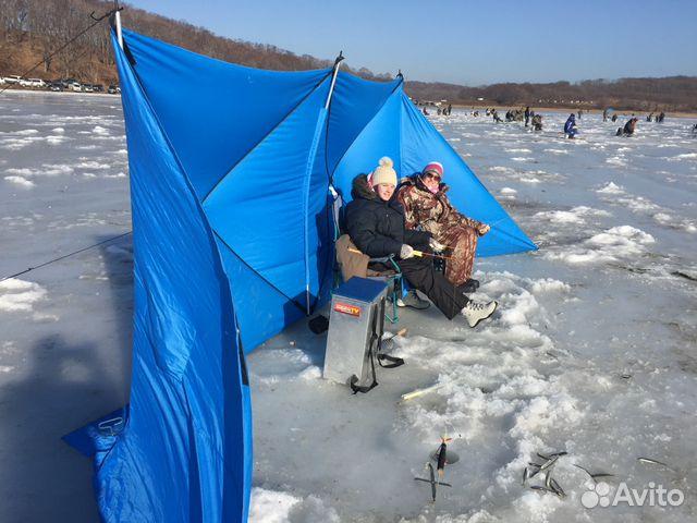 Укрытие от ветра для зимней рыбалки
