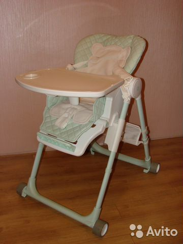 стульчик для кормления Happy Baby William V2 купить в московской