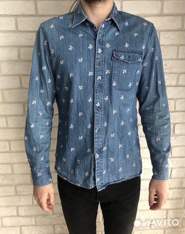 9841c210b2f Рубашка джинсовая «царь вечеринки»