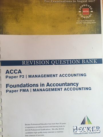 Acca Revision Question Bank – Meta Morphoz