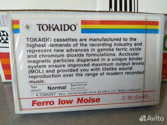 Аудиокассета Tokaido C90  89787838541 купить 2