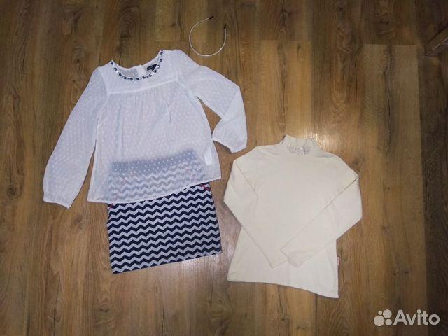 Блузка M&S на 8-10 купить 1