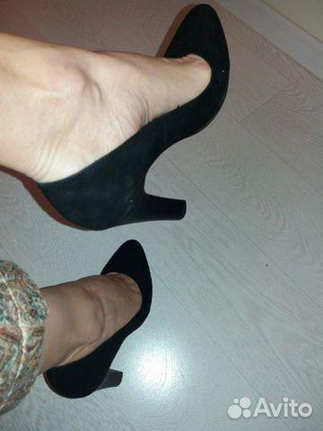 Туфли новые натуральная замша 89027802361 купить 8
