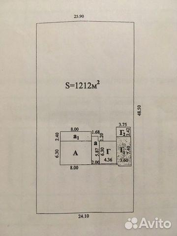 Дом 50.4 м² на участке 12.1 сот.
