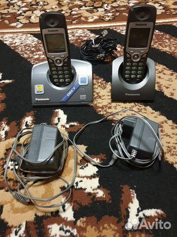 Радиотелефон Panasonic на 2 трубки 89142630574 купить 1