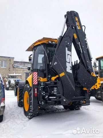 Backhoe loader MST 644 plus