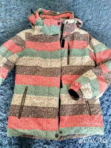 Куртка на девочку (зима)  89106978417 купить 1