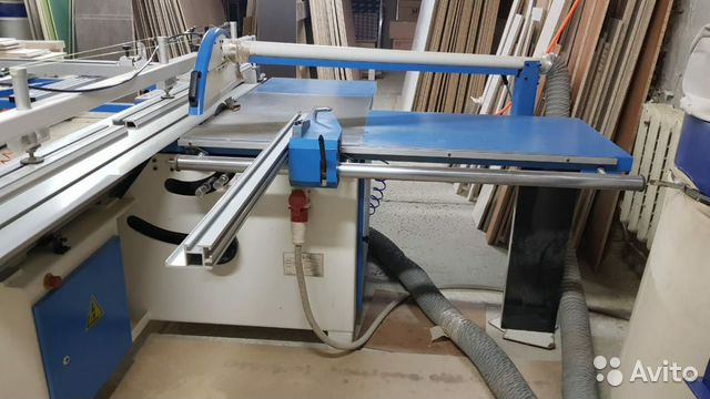 Panel sizing machine