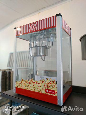 Аппарат для поп-корна Huracan HKN-pcorn купить 2